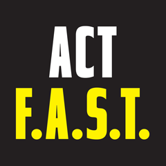 Act Fast logo