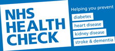 NHS Health Check Banner logo